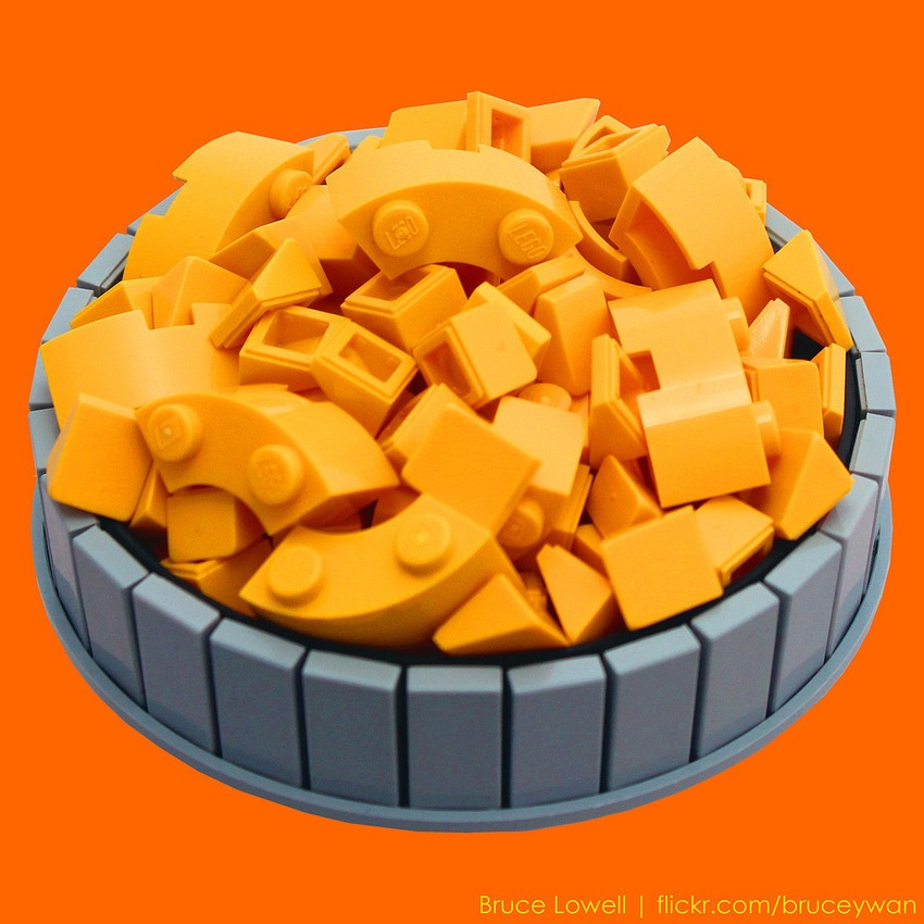 pleyworld - lego mac and cheese