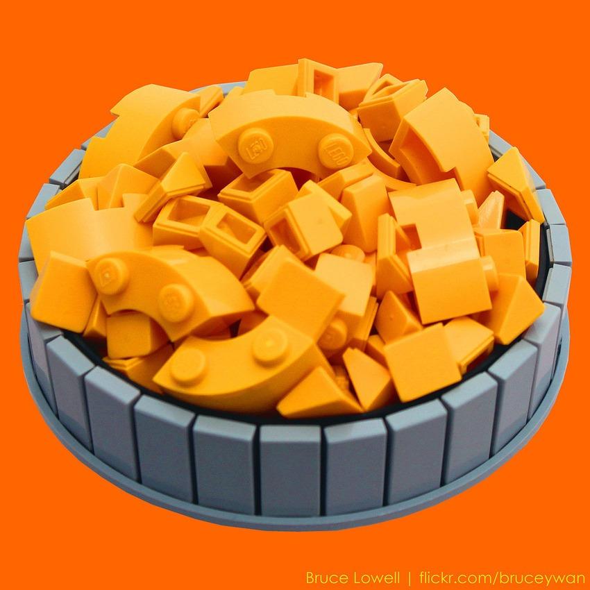 pleyworld - lego mac and cheese