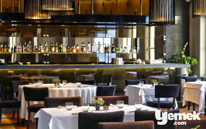 A'jia Restaurant Yemek Düzeni