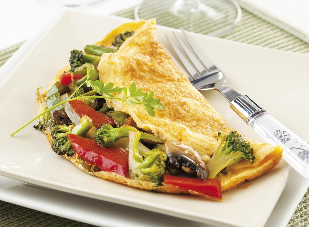 brokoli-omlet