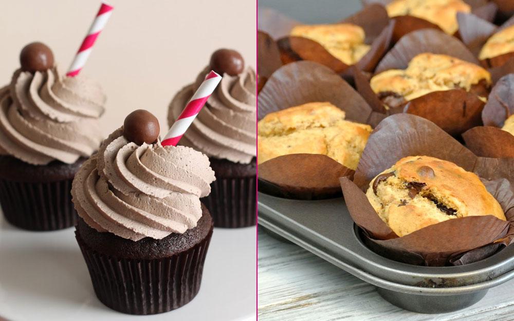 Cupcake Muffin Farkı