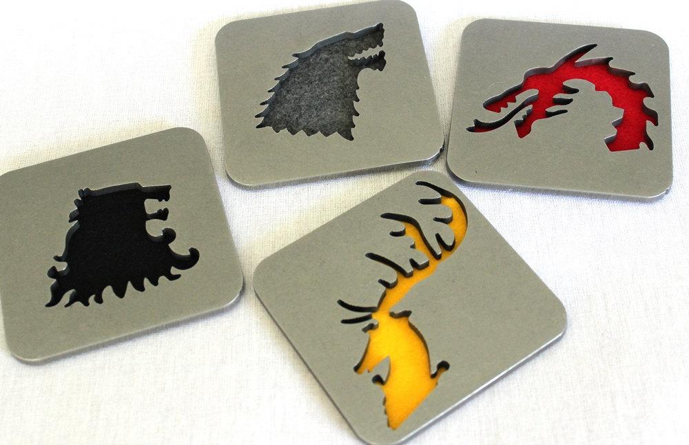etsy - game of thrones bardak altlığı