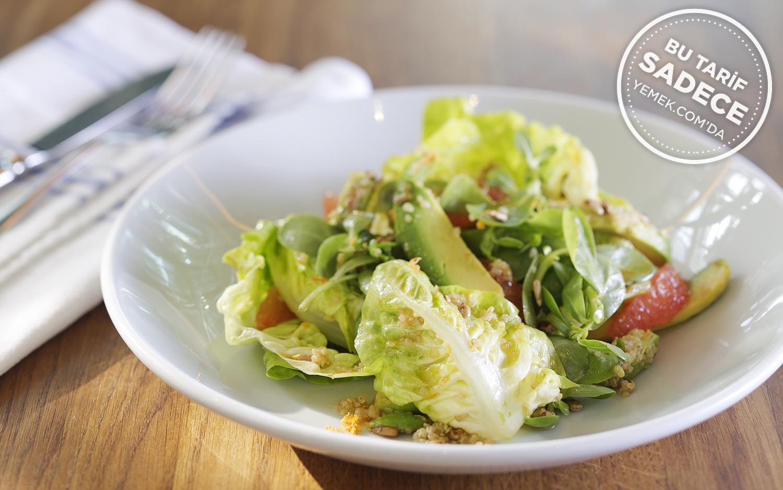 Greyfurt Avokado Salatası Tarifi