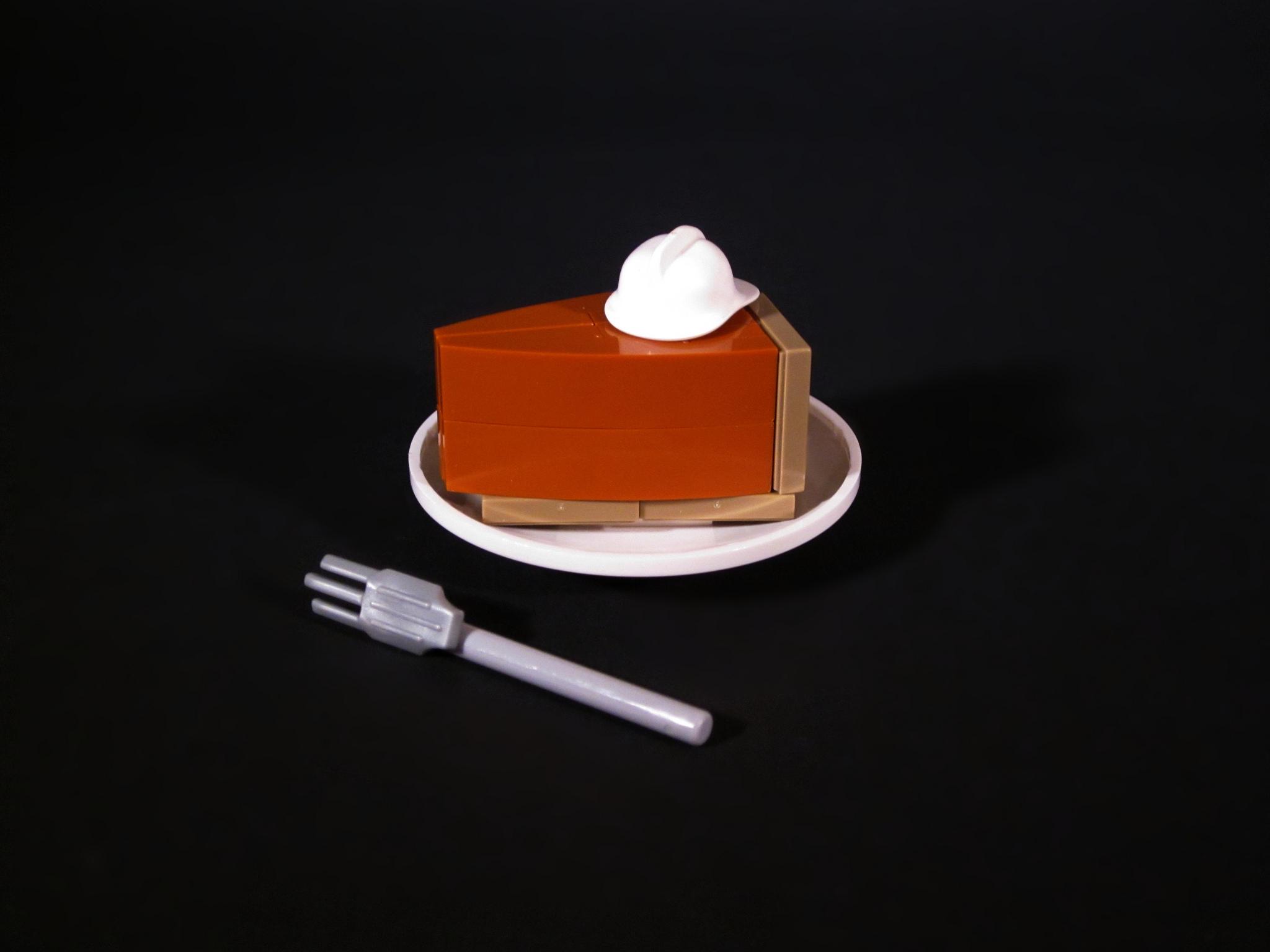 foodcember - lego balkabaklı cheesecake