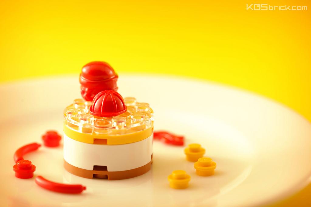 foodcember - lego kremalı pasta