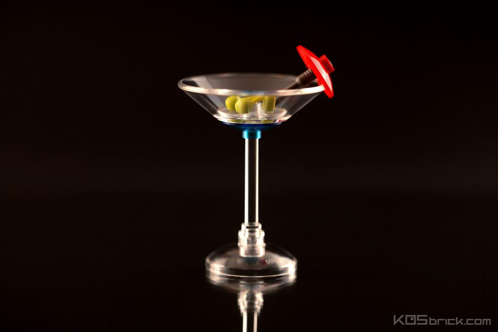 foodcember - lego martini kokteyli