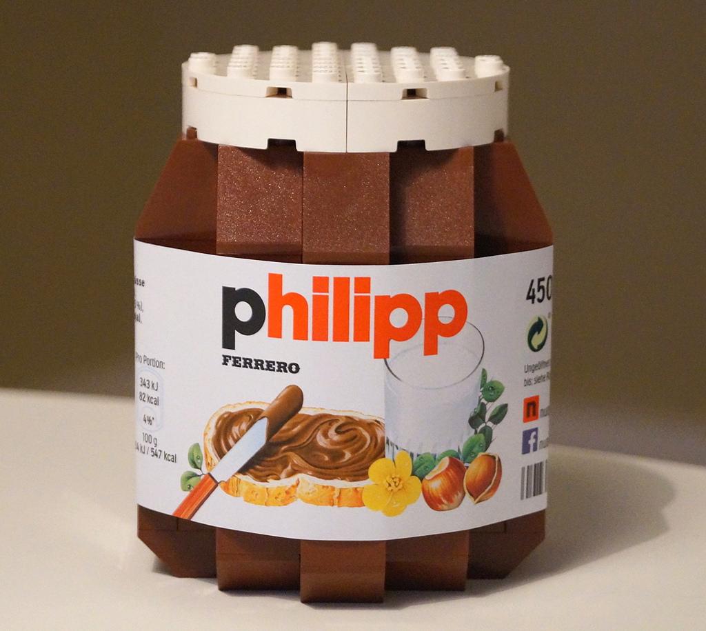 foodcember - lego nutella