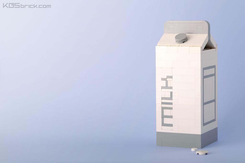 foodcember - lego süt kutusu