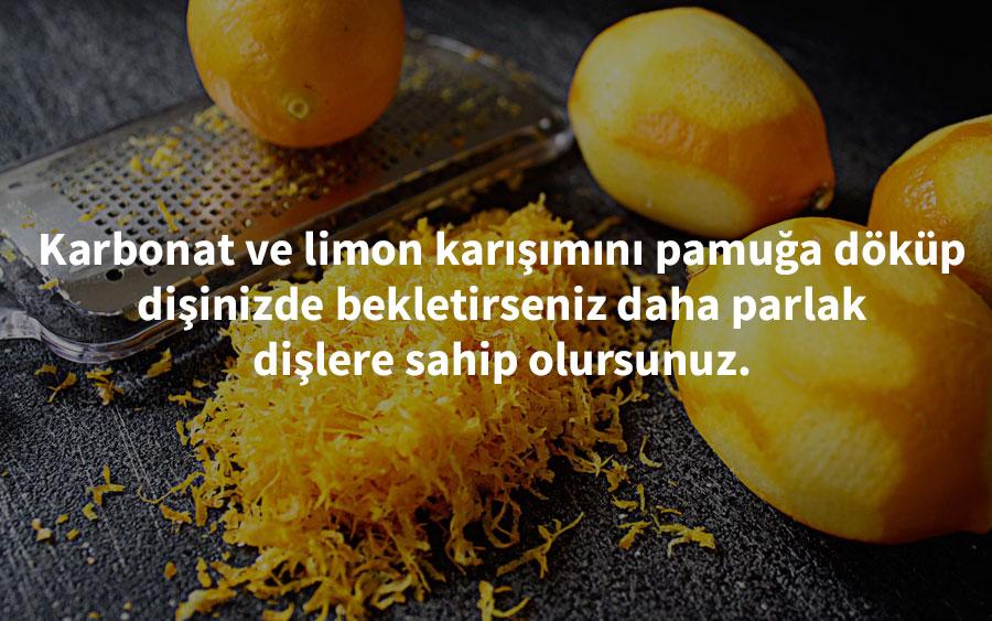 limon hakkında bilmediğiniz gerçekler
