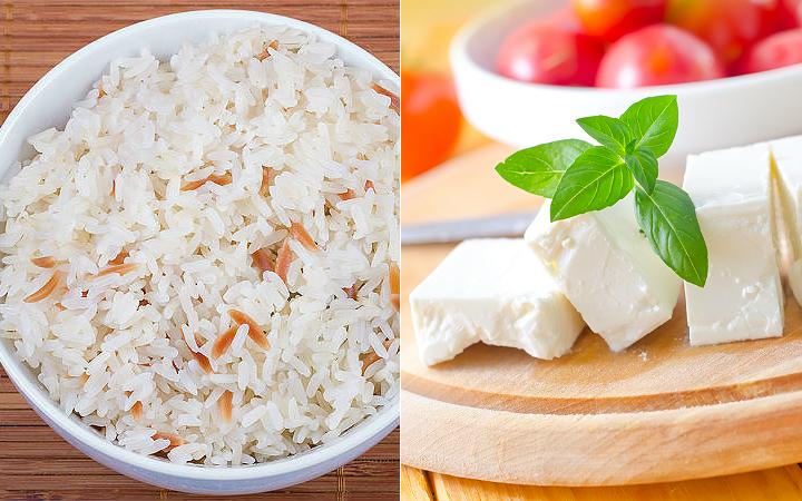 pilav-beyaz-peynir
