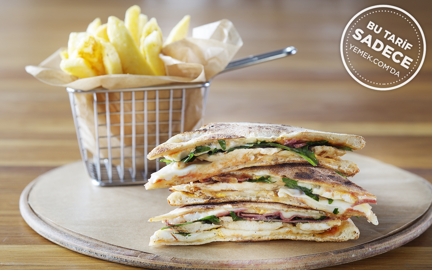 Kitchenette Pizza Club Sandwich Tarifi