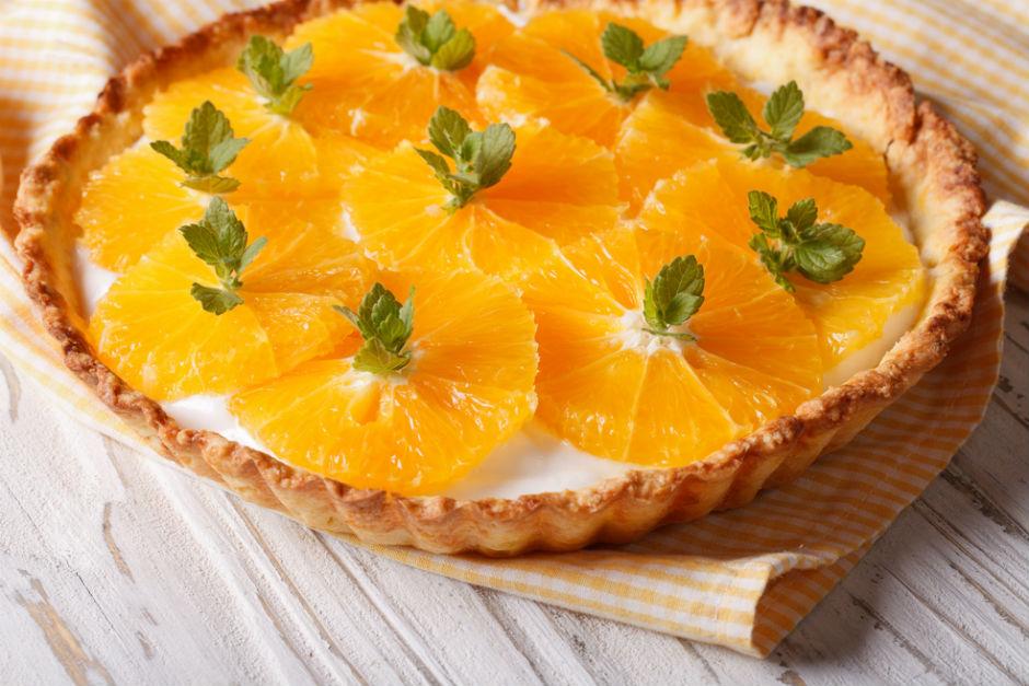 Portakallı Tart Tarifi
