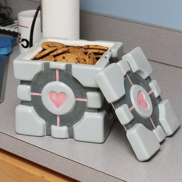 geekdecor - portal kurabiye kavanozu