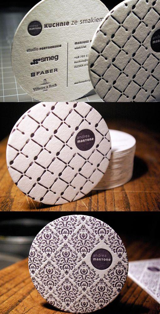 http://cardobserver.com/gallery/rounded-letterpress-design-2 | cardobserver - tasarım bardak altlıkları