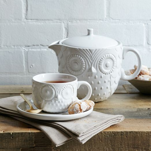 http://www.westelm.com/products/owl-tea-collection-d1512/?cm_mmc=socialmedia-_-pinterest-_-owl-tea-collection-_-giftguide | welstem - tasarım çay demlikleri