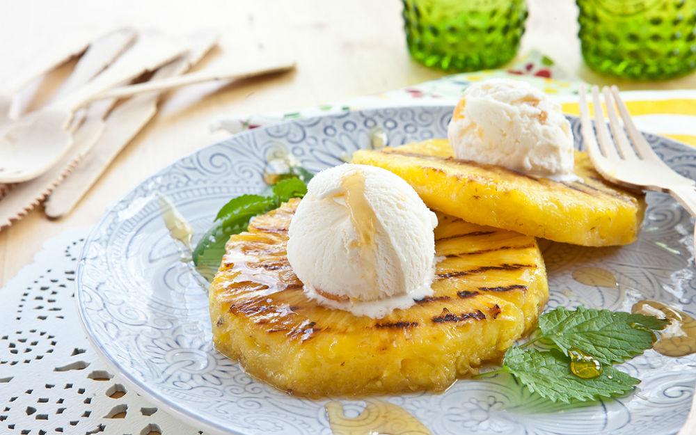 Dondurmalı Kızarmış Ananas Tarifi