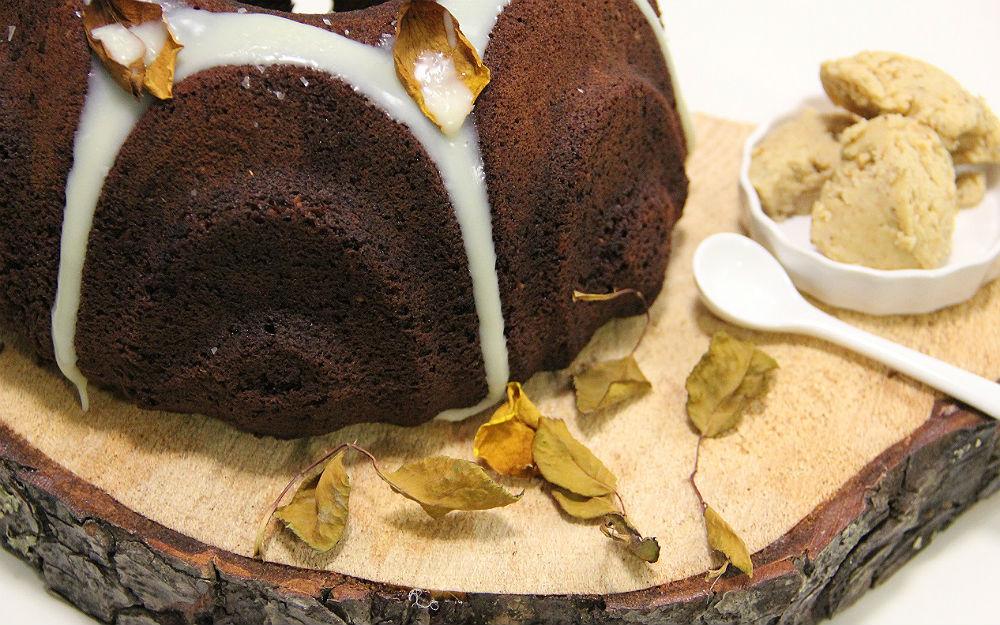 Fındık Ezmeli Kakaolu Kek Tarifi
