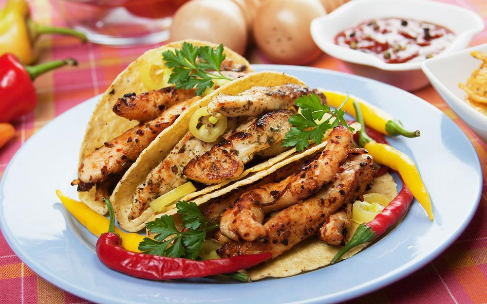 Tavuklu Taco Tarifi