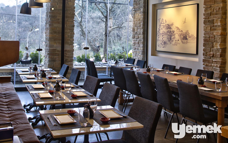 Fotoğraf: Özgür Bakır / Yada Sushi Oturma Düzeni