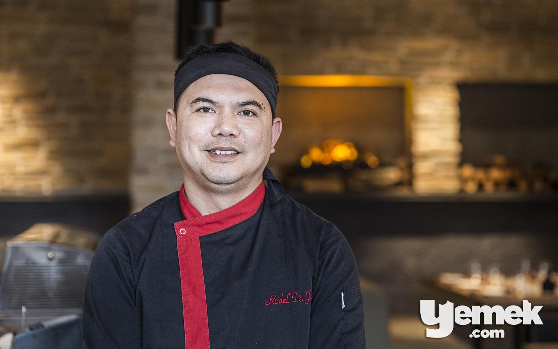 Yada Sushi Şefi Rodel Javier
