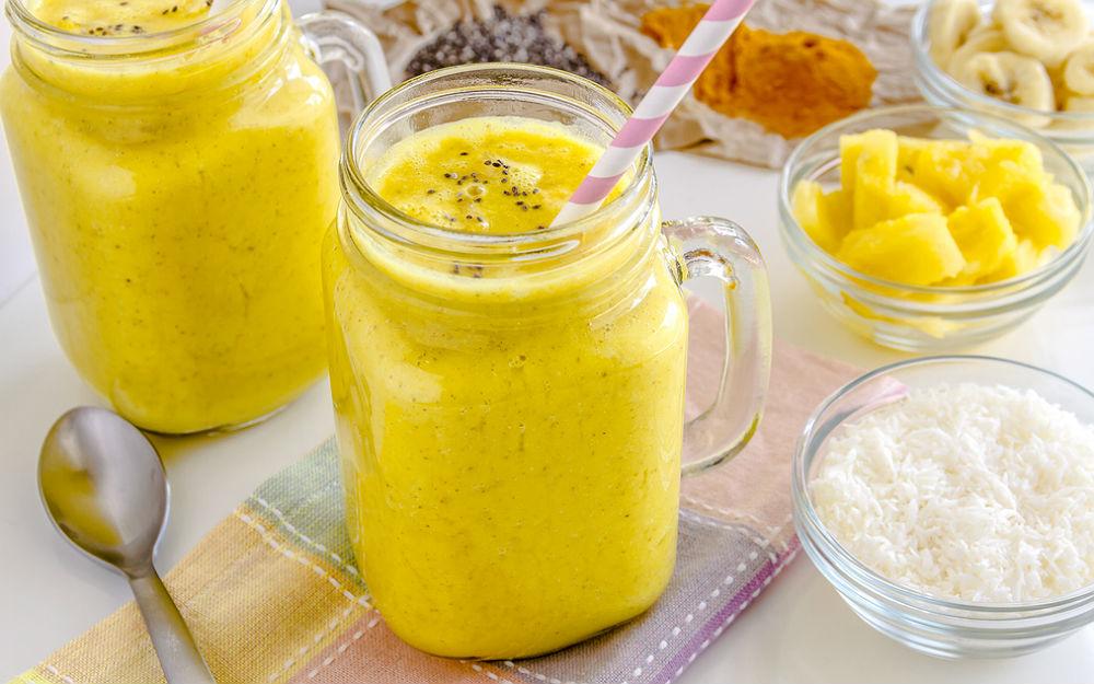 Ananaslı Baharatlı Smoothie Tarifi