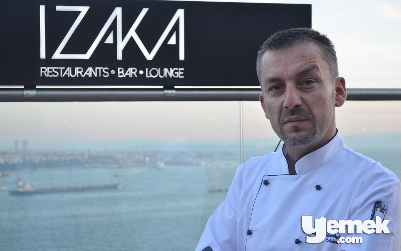 Izaka Restaurant Şefi İsmail Tomurcukgül