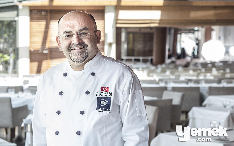 Lacivert Executive Chef Hüseyin Ceylan