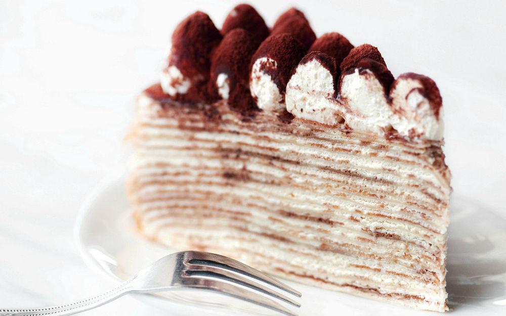 Mille Crepes Cake Tarifi