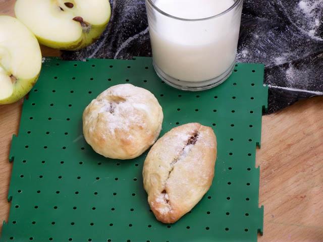 tuzluvesekerli - elmalı kurabiye