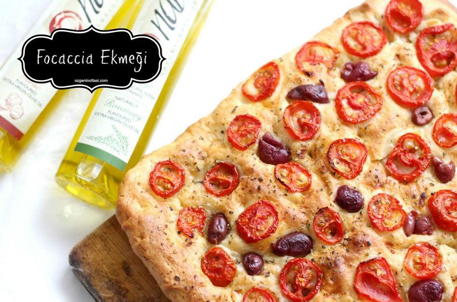 ozgeninoltasi - focaccia ekmeği