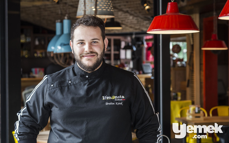 Limonata Teras Mutfak Şefi İbrahim Kotok