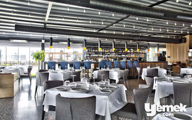 Ouzo Roof Restaurant Yemek Düzeni