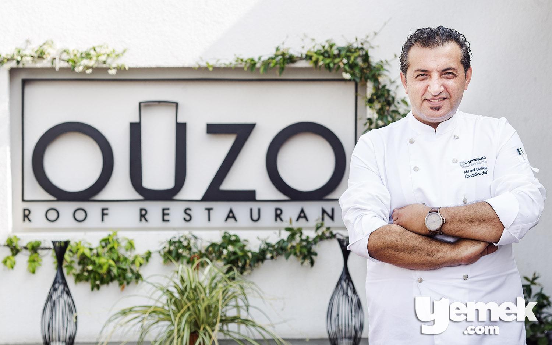 Ouzo Roof Restaurant Şef Mehmet Yalçınkaya