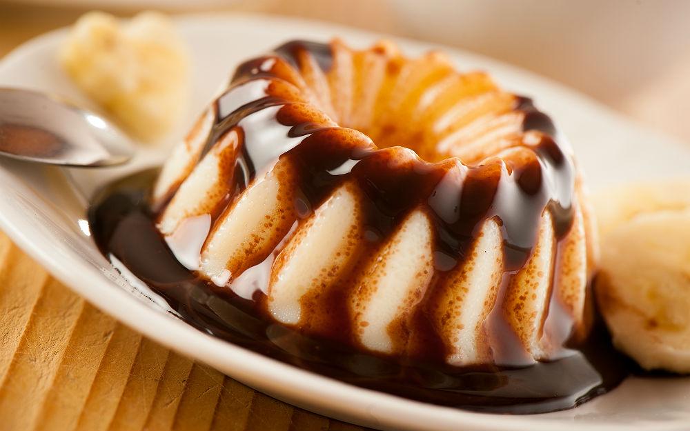 Çikolata Soslu Muhallebi Tarifi