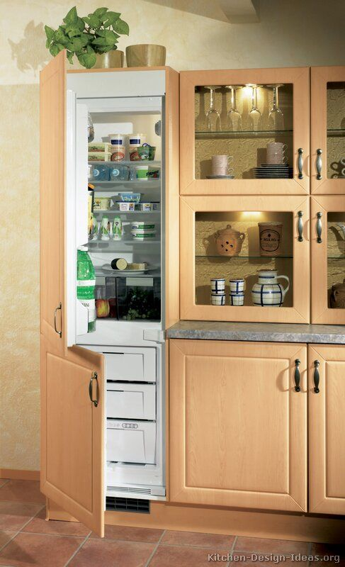 kitchen-design-ideas - tasarım buzdolabı