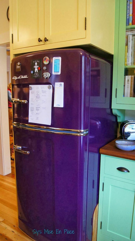 slysmisenplace - tasarım buzdolabı