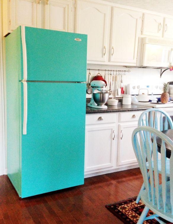 cozycrookedcottage - tasarım buzdolabı