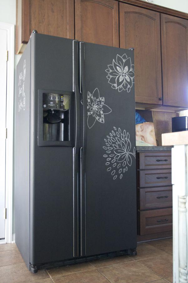 thehandmadehome - tasarım buzdolabı