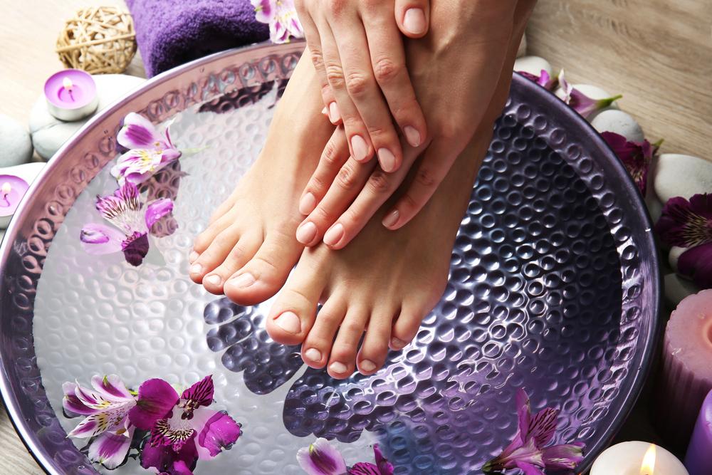 lavanta ayak masajı