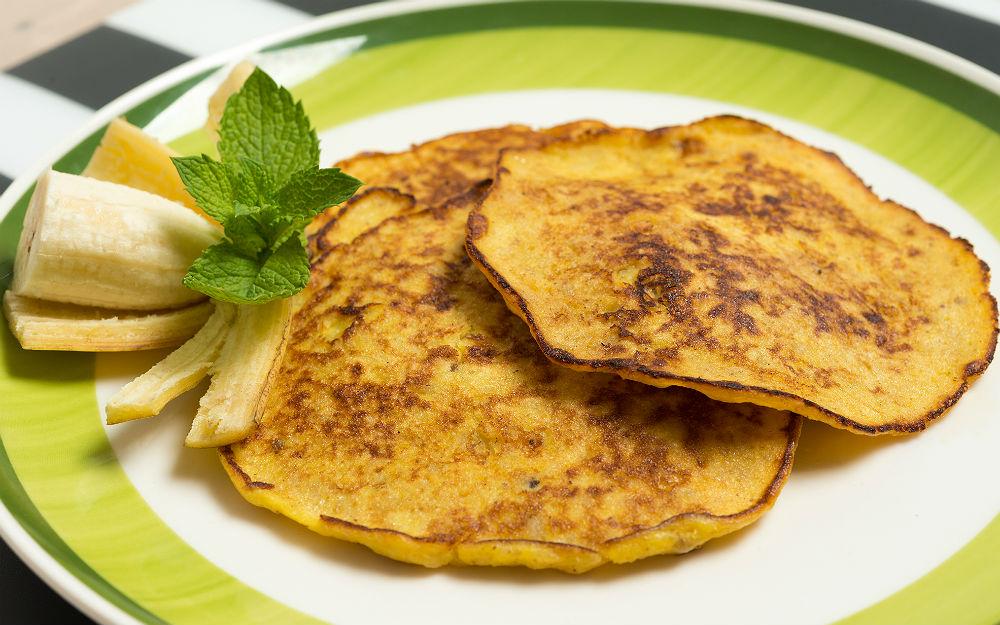 İki Malzemeli Pancake Tarifi
