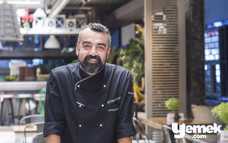 Sandalyee Mutfak Şefi Erkan Yeşil