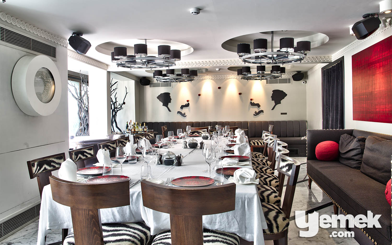 The Galliard Özel Yemek Odası