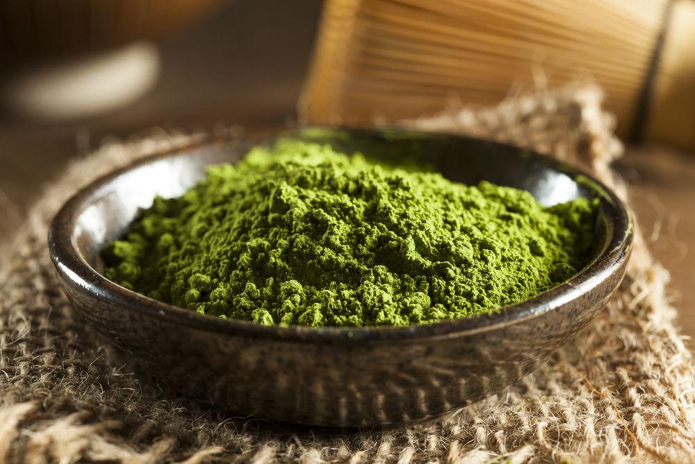 yeşil çay maskesi