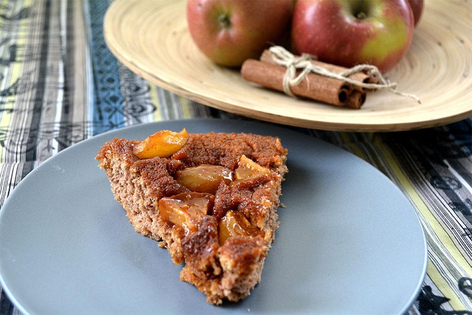 Elmalı Ters Yüz kek Tarifi