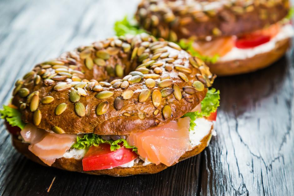 Füme Somonlu Sandviç