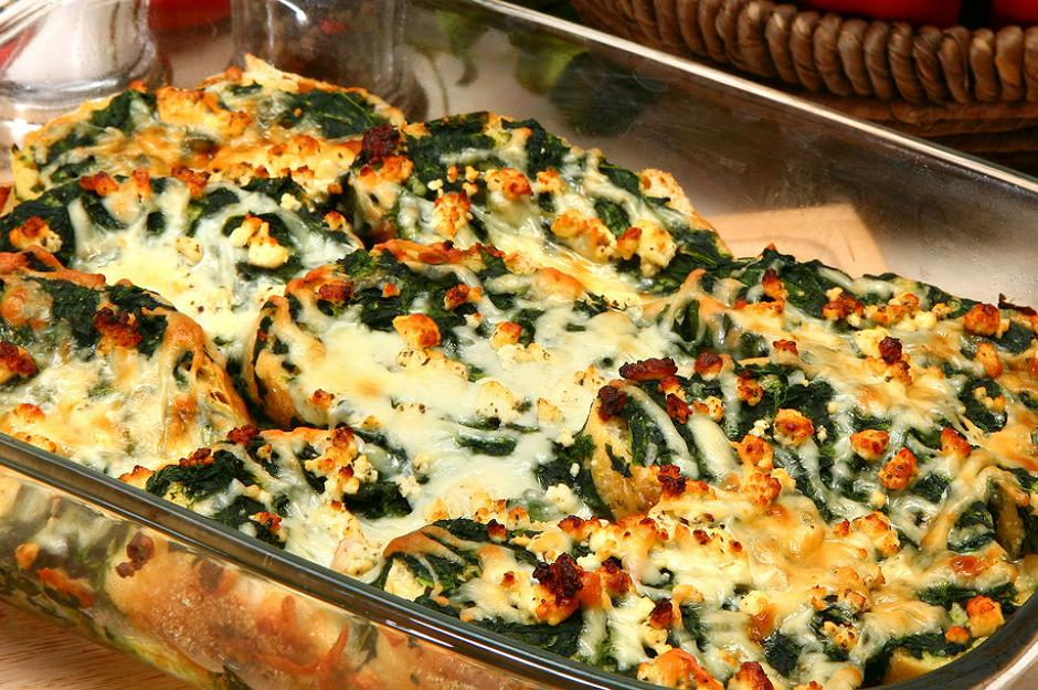 Ispanaklı Peynirli Strata Tarifi