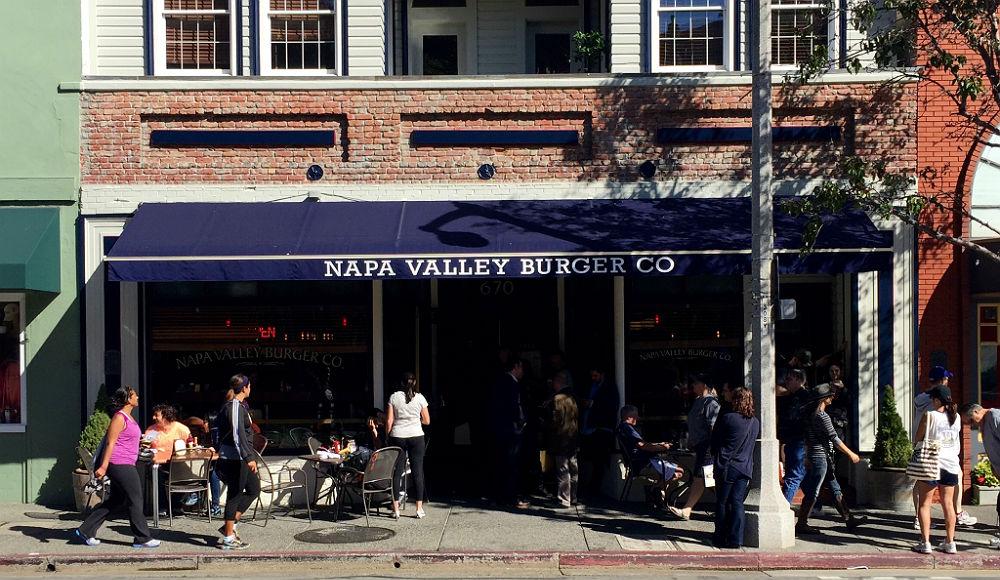 randomlyedible - napa valley burger co