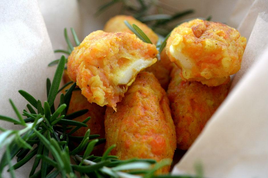 Fırında Peynirli Sebze Kroket Tarifi