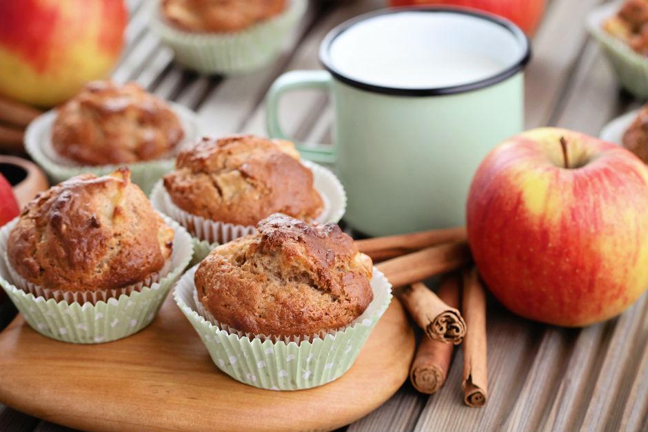 Elmalı Tahinli Muffin Tarifi