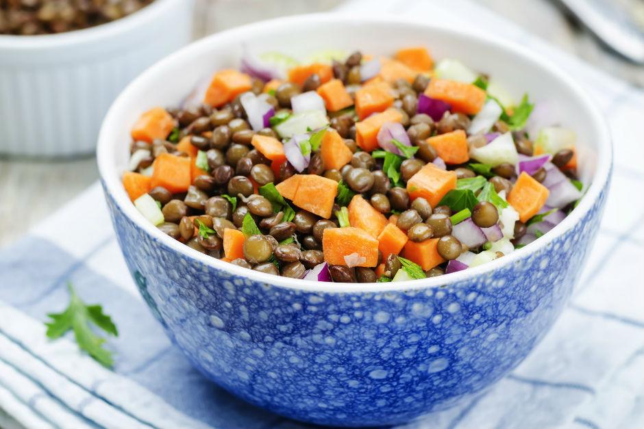 Havuçlu Mercimek Salatası Tarifi